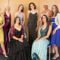 Taking to the Catwalk for Autism Guernsey.