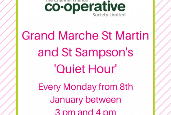 Autism-friendly 'quiet hours' to become regular fixture at Channel Islands Co-op stores