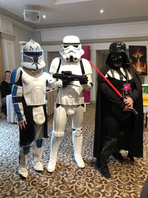Star Wars Afternoon Tea enjoyed by all!